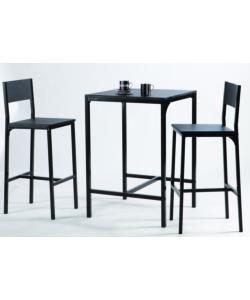 Tavolo Bianco Sedie Nere. Quattro Sedie Nere Tavolo Ovale Isometrica ...