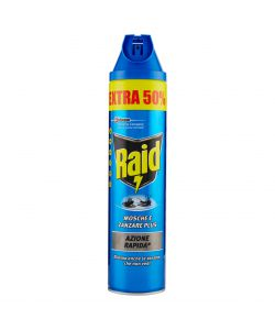 RAID MOSCHE E ZANZARE SPRAY 600ML.