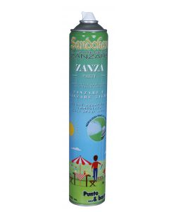 INSETTICIDA AMBIENTALE A EFFETTO RAPIDO - ZANZA PARTY 750ML