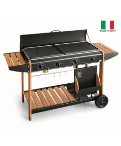 BARBECUE  'VANCOUVER' MULTIGAS GPL E METANO - BST.