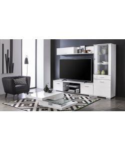 Mensola da soggiorno bianco laccato - Mensola porta tv ...