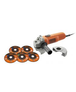 SMERIGLIATRICE ANGOLARE KG115A5 - BLACK AND DECKER
