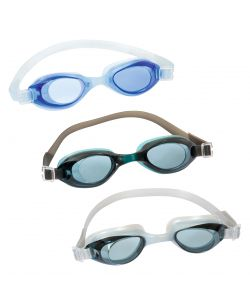 OCCHIALINI NUOTO HYDRO PRO IN SILICONE - UV PROTECTION - ANTI FOG - 3 COLORI.