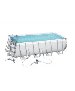 PISCINA RETTANGOLARE POWER STEEL 488X244X122CM IN PVC