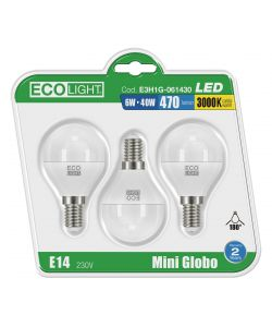SET DI LAMPADINE A LED - MINI GLOBO