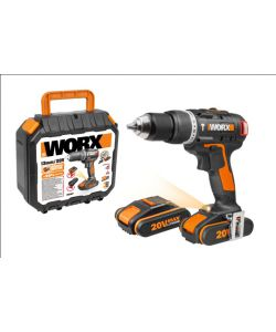 WORX - TRAPANO A PERCUSSIONE 'WX367.3' CON MOTORE BRUSHLESS.