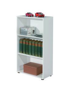 Libreria alida con 5 ripiani colore rovere e bianco 90 for Eurobrico arco