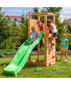Alce gioco da esterno in legno per bambini funny 3 con for Altalena chicco da giardino