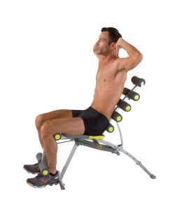 TB TRAINER TOTAL BODY WORKOUT PANCA MULTIFUNZIONE PER ALLENAMENTO - 6 ATTREZZI IN 1.