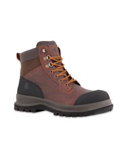 SCARPONE COLLO ALTO DETROIT RUGGED S3 MARRONE CARHARTT NUMERO 46.