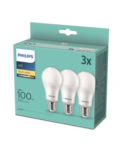 SET 3 LAMPADINE LED PHILIPS 13W