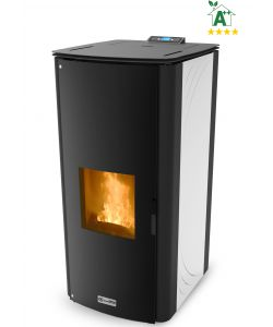 TERMOSTUFA A PELLET 'CLASS THERMO 34' BIANCA - CANADIAN STOVE.