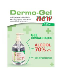 DERMO-GEL IGIENIZZANTE MANI IN GEL 500 ML