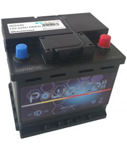 BATTERIA AUTO POWER CELL 55AH DX